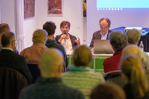 Podiumsdiskussion zur Bürgerbeteiligung